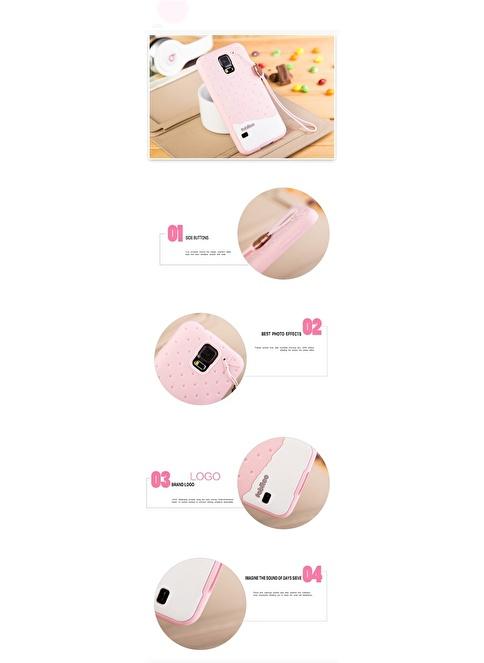 Fabitoo Samsung Galaxy S5 Candy Kılıf  Pembe